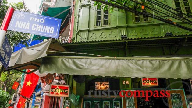 Cong Caphe, Nha Tho St