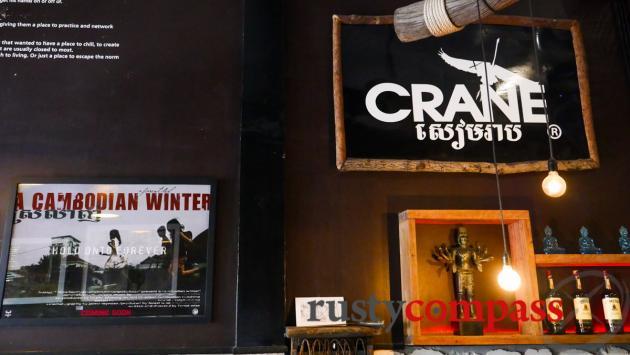 Crane Cafe, Siem Reap