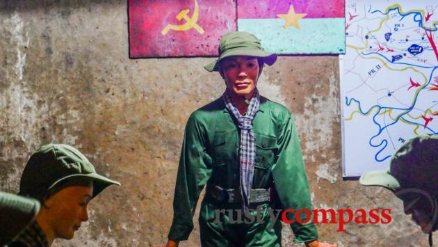 Mannequins of the Cu Chi tunnels