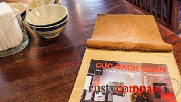 Cuc Gach Quan, Saigon