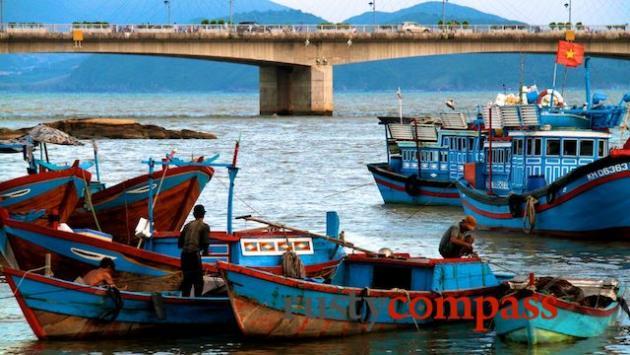 The fishing fleet.