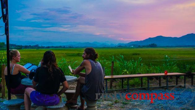 Phong Nha sunset - Phong Nha Farmstay