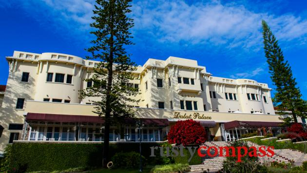 The Dalat Palace, one of Vietnam's most beautiful hotels.