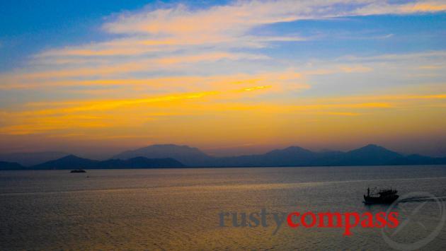Danang's incredible natural setting.