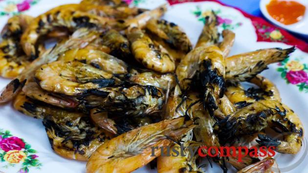 Local seafood Danang