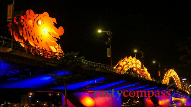 Danang's Dragon Bridge receives plenty of attention