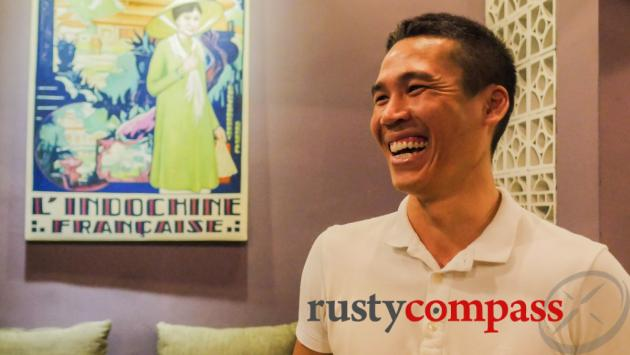 Danh from Quan Bui restaurant.