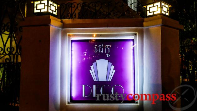 Deco restaurant phnom penh review by rusty compass for Deco restaurant