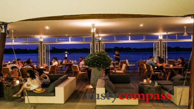 Riverside drinks and dining in Saigon's District 2