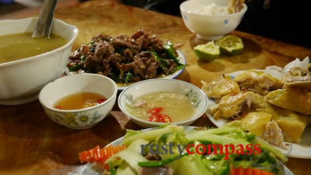 Lunch in Dong Van