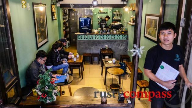 Drew Coffee, Hanoi