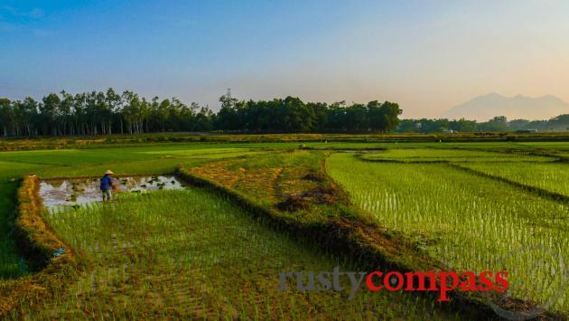 Countryside around Duong Lam