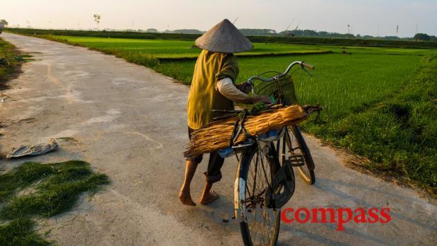 Duong Lam Village outside Hanoi, Vietnam