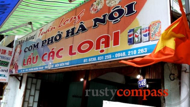 Dien Bien Phu eatery.