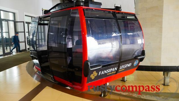 Fansipan cable car, Sapa
