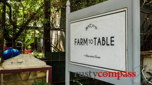 Farm to Table, Phnom Penh