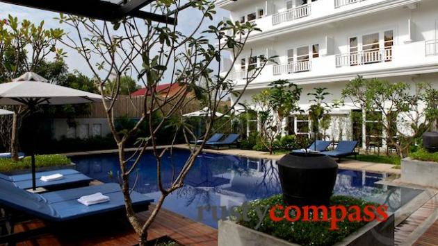 Pool, Frangipani Villa Hotel