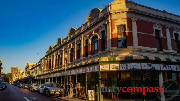 Small, local businesses thrive in Fremantle.