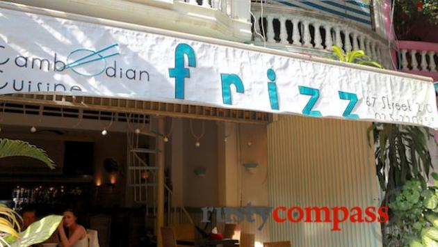 Frizz Restaurant, Phnom Penh
