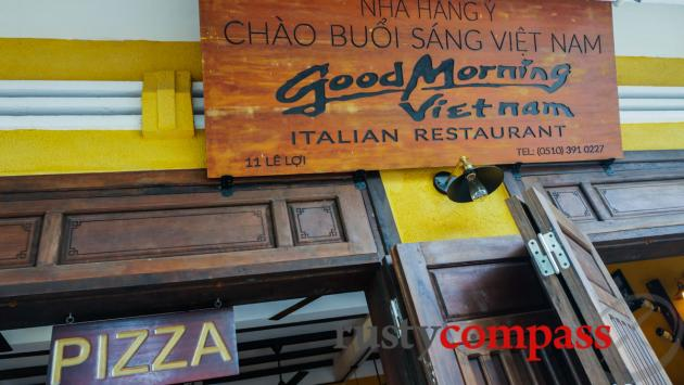 Good Morning Vietnam Italian restaurant, Hoi An