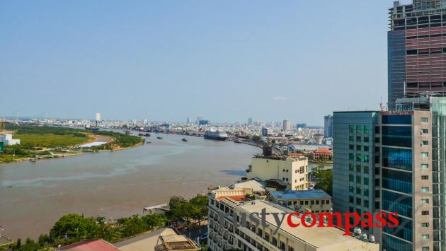 The view from the rooftop - Grand Hotel. Saigon