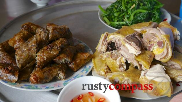 Typical hearty fare - Ha Giang province.