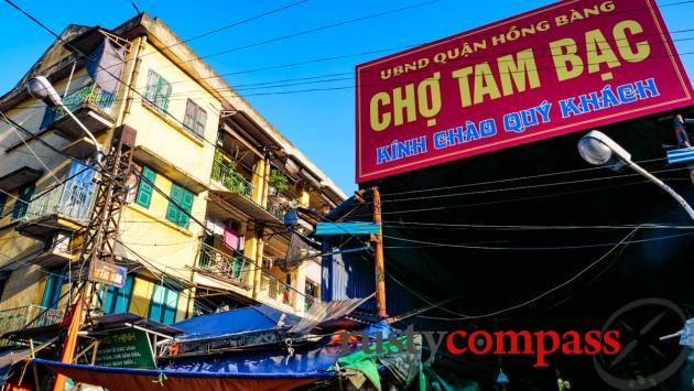 Tam Bac Market - Haiphong, Vietnam