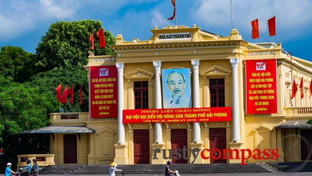 Opera House, Haiphong, Vietnam