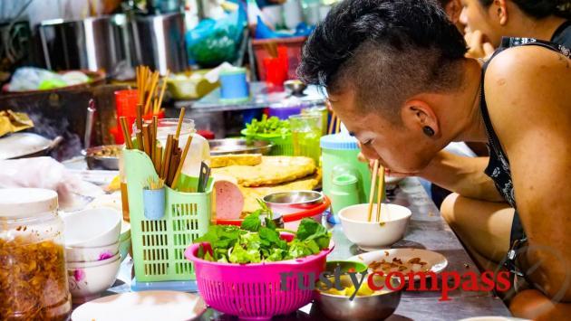 Banh Cuon street food - Haiphong, Vietnam