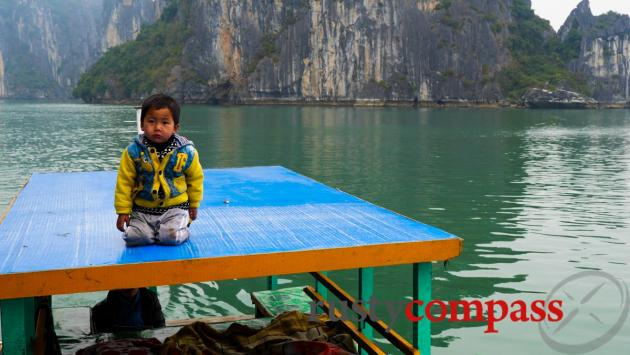 Halong in winter.