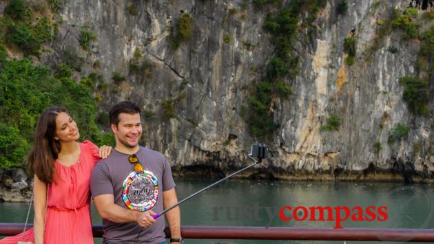 Selfie heaven, Halong Bay