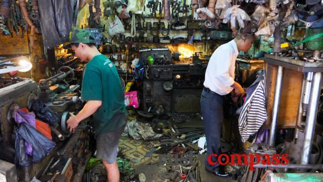The workshop, Hanoi