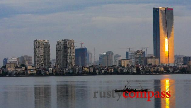 Hanoi's new skyline