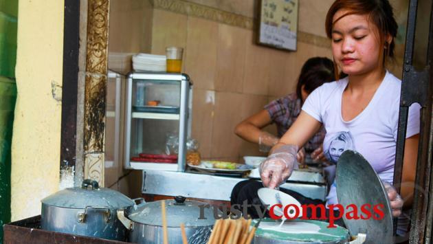 Street food, Old Quarter, Hanoi