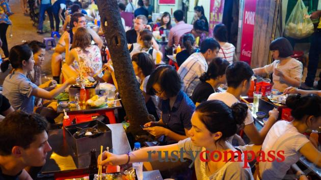 Hanoi's food culture is still focused on the streets.