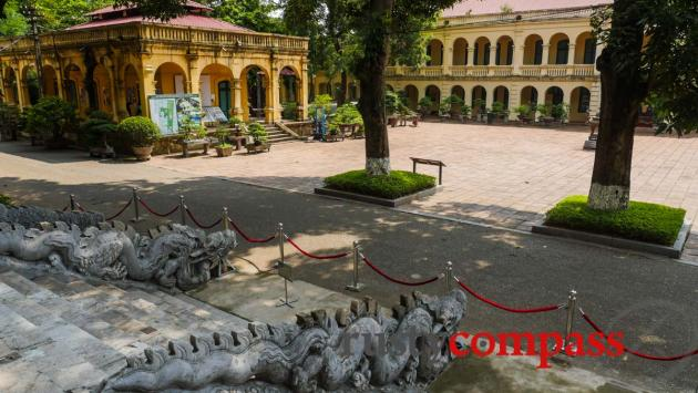 Kinh Thien Palace remains, Thang Long Citadel, Hanoi