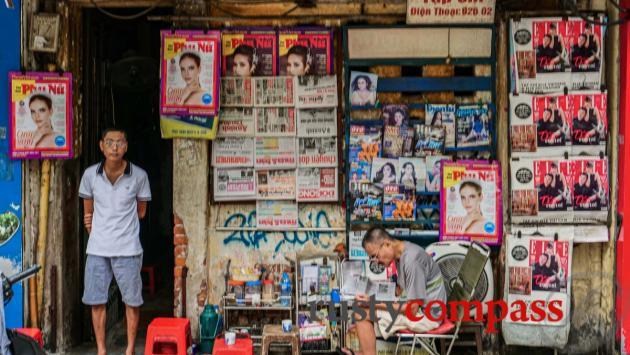 Magazine stand, Hanoi