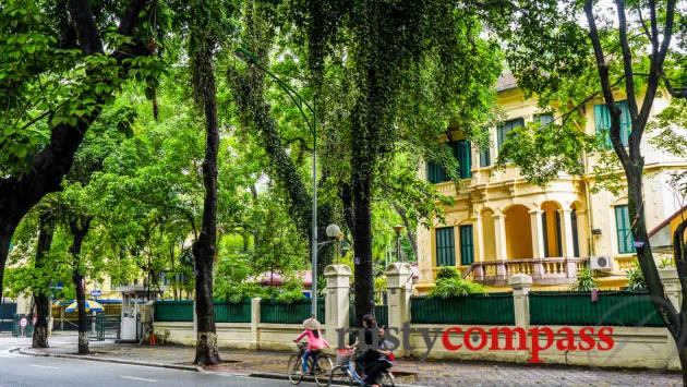 Phan Dinh Phung is home to some of Hanoi's most impressive villas.