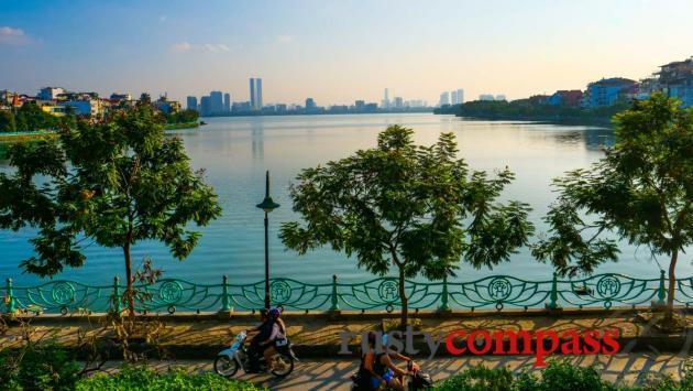 Hanoi's West Lake expat area