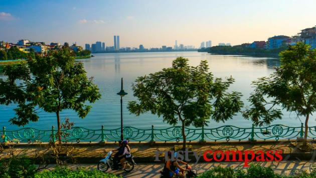 Hanoi's West Lake expat area
