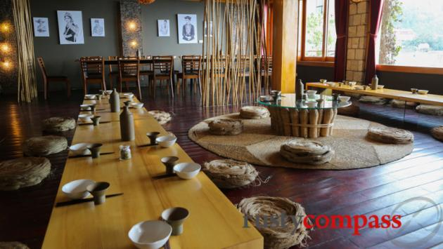 Hillstation Signature Restaurant - Sapa. Danish design sensibility meets ethnic minority cuisine.