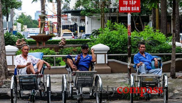 Cyclo survivors - Saigon