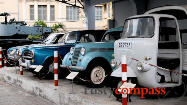 French era cars - Ho Chi Minh City Museum