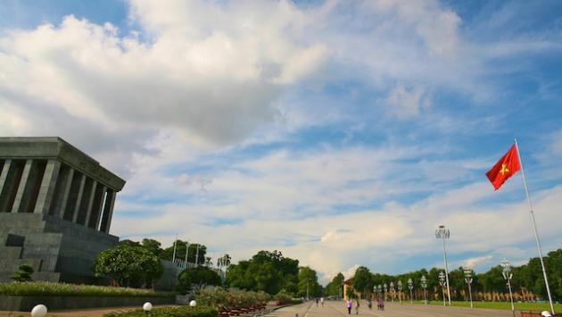 Ba Dinh Square and Ho Chi Minh's Mausoleum, Hanoi