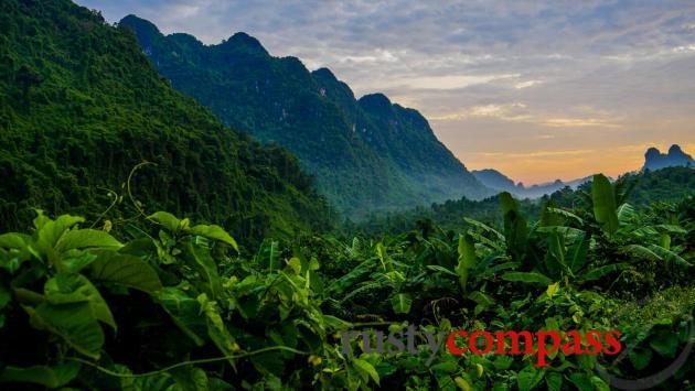 The Ho Chi Minh Trail - Phong Nha - Ke Bang