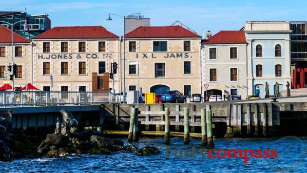 Hobart Waterfront - old warehouses