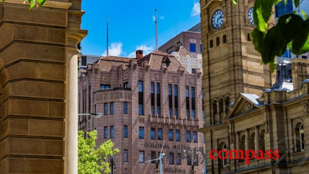 Victorian to deco - Hobart streets