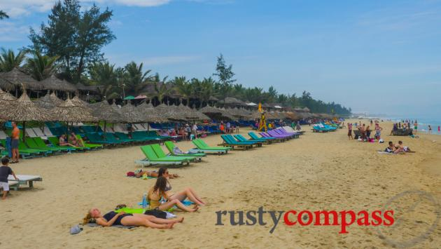 Hoi An's main beach is now An Bang