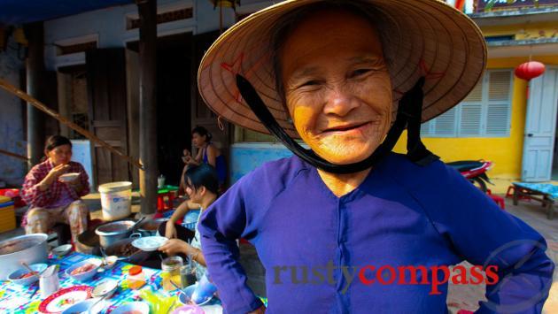 Streetside food stall, Hoi An