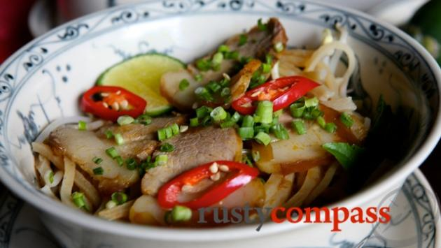 Cao Lau, a simple delicious Hoi An specialty